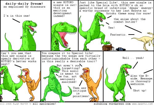 dino comics parody